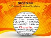 Business Progess Factors To Reach Goal PowerPoint Templates PPT Themes