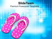 Sleepers To Roam Around At Beachs PowerPoint Templates PPT Themes And