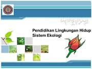 new ppt ekologi