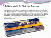 A Guide to Manila for First-time Travelers