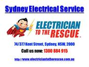 Sydney Electrical Service | Call 1300 884 915