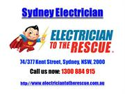 Sydney Electrician | Call 1300 884 915