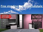 Free standing bathroom furniture