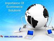 The need for ecommerce solutions