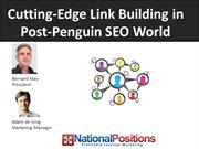 Cutting Edge Link Building in a Post-Penguin SEO World