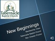 New Beginnings Online Salvation
