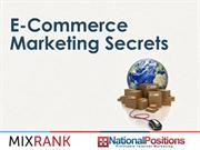 Today's Top Ecommerce Marketing Secrets