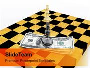 Strategical Business On Chess PowerPoint Templates PPT Themes And Grap