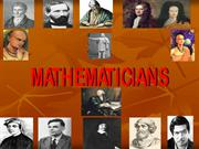 INDIAN MATHEMATICIANS