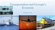 Transportation and Georgia's Economy