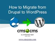 How to Migrate from Drupal to WordPress Coding-Free