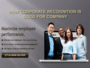 How Corporate Recognition Is Good For Company
