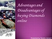 Advantages and disadvantages of buying jewelry online