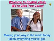 We�re Glad You Came!- Bs. Tuyet class