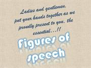 FIGURES OF SPEECH...!!!