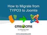 How to Migrate from TYPO3 to Joomla