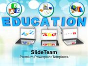 Conceptual Image Of Education And Teaching PowerPoint Templates PPT Th