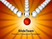 Conceptual Image Of Teamwork Success PowerPoint Templates PPT Themes A