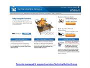 Toronto managed it support services TechnicalActionGroup