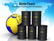 Image Of Oil Trading Concept PowerPoint Templates PPT Themes And Graph