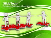 Join Our Community Teamwork Image PowerPoint Templates PPT Themes And
