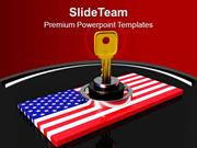 National Security Concept America PowerPoint Templates PPT Themes And