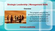 Strategic Leadership | Management Skills