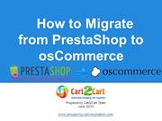 How to Migrate from PrestaShop to osCommerce