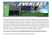 supplier of quality welding equipment