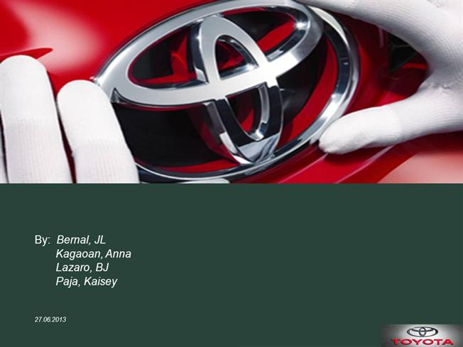 toyota final |authorstream, Presentation templates