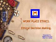 M Consults-Workplace ethics