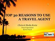 Korte Travel:  Why Use a Travel Agent