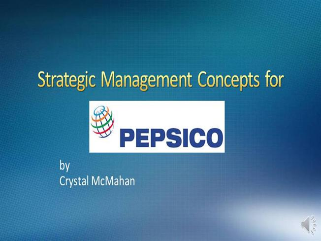 Powerpoint Project Pepsico |authorSTREAM