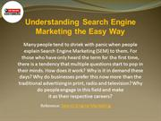 Understanding Search Engine Marketing the Easy Way