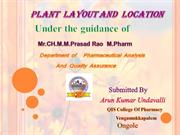 plant lay out