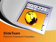 Browsing Internet Global Business PowerPoint Templates PPT Themes And