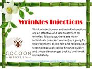 Wrinkles Injections By Cocoon Medical Spa