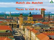 Beer, sausages and surfing - Its Munich for you!!