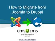 How to Migrate from Joomla to Drupal