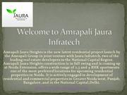 Welcome to Amrapali Jaura Infratech