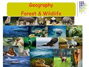 Forest &Wildlife resources