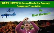 Paddy Power Presentation