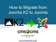 How to Import Joomla K2 to Joomla