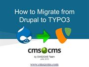 How to Migrate from Drupal to TYPO3
