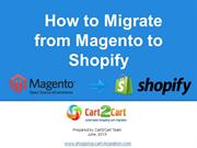How to Migrate from Magento to Shopify