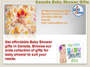Buy affordable Baby Shower Gift in Canada