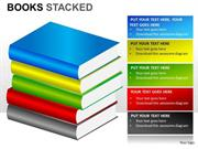 BOOKS STACKED EDUCATION CONCEPT
