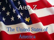 A to Z of The United States of America