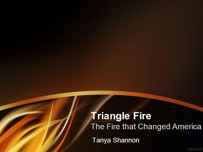 triangle the fire that changed america essay