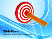 Arrow Planning To Achieve Goal Business PowerPoint Templates PPT Theme